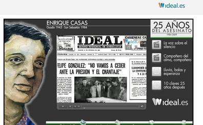 35 años sin el accitano Enrique Casas Vila, asesinado por ETA