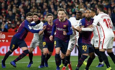 El Barça inicia en Sevilla una semana de vértigo