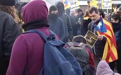 Mucha seguridad y pocas protestas por la visita del Rey a Barcelona