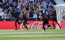 El Valencia cede dos puntos ante un valiente Leganés