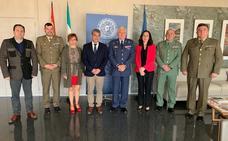 Reunión en la Universidad de Almería con representantes del Ministerio de Defensa