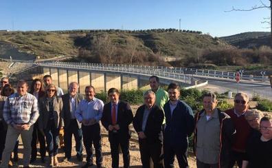 Inauguran el nuevo acceso a Campillo del Río, con 1,3 millones de inversión