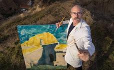 Socram, el pintor de las cuevas: «Mis obras no son paisajes, son cuentos»
