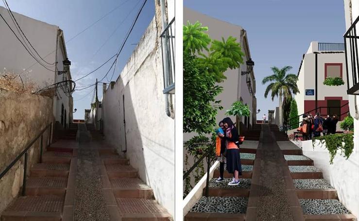 Así sería el centro de Jaén con «una inversión mínima»