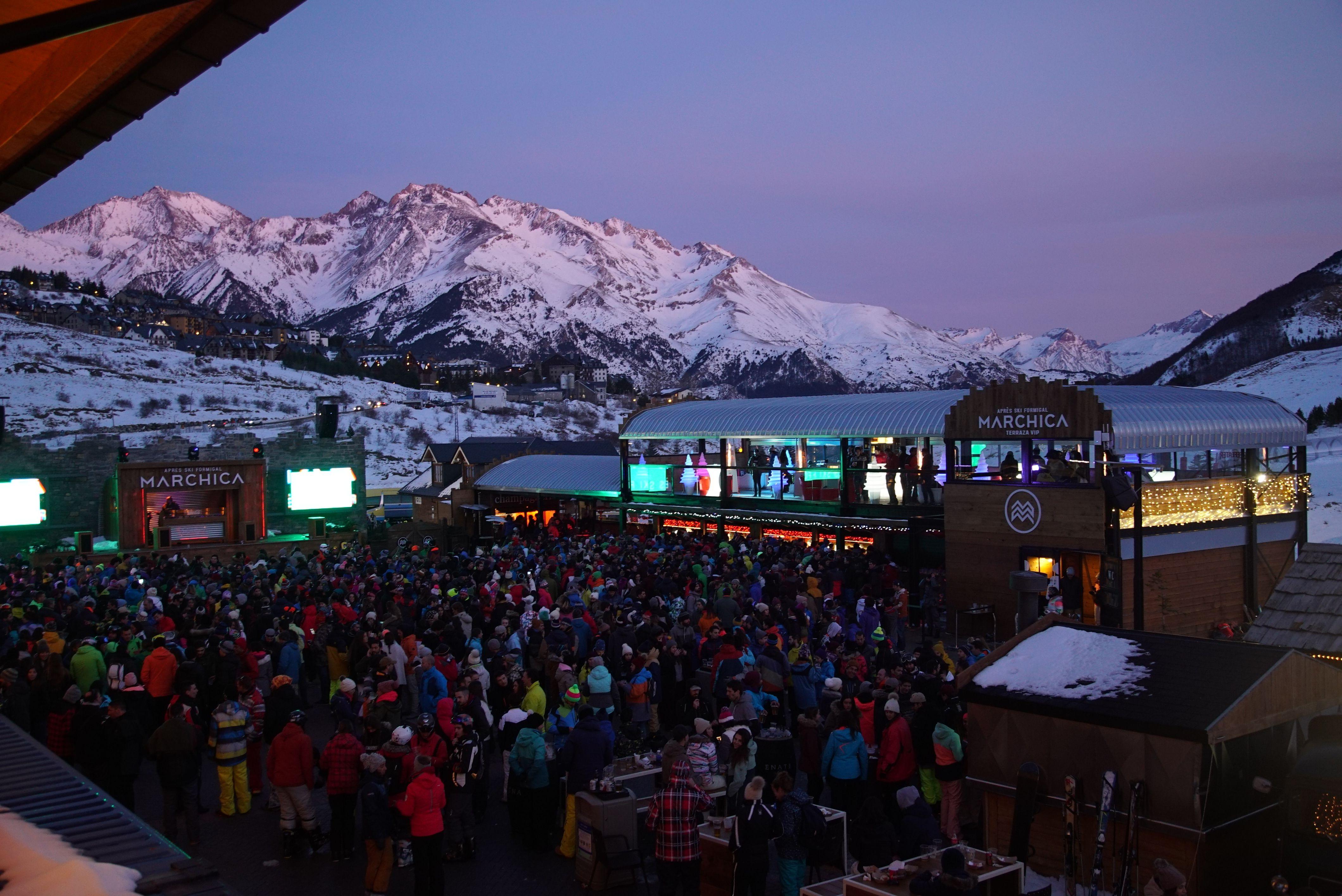 El Apres Ski vive su gran evento en Marchica