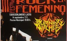 Torredonjimeno prepara para después de verano el III Rock en Femenino