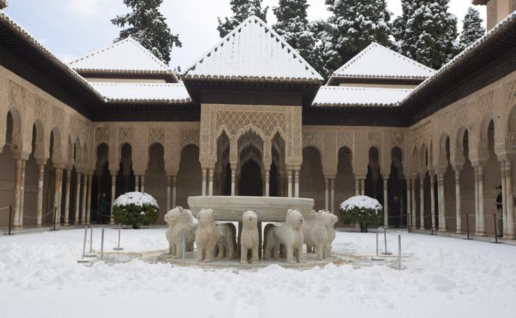 Granada nevada, la estampa más hermosa