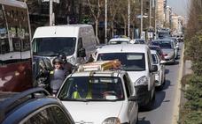 El Ayuntamiento reduce la velocidad a 30 km/hora en toda Granada por el nivel de contaminación de los últimos días