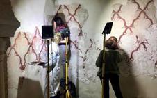 Nuevos 'tesoros' tras la restauración de los murales en los Baños Árabes de Jaén