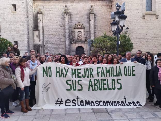 Castellar quiere que los niños separados de sus abuelos vuelvan