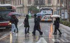 Vuelve la lluvia a Granada