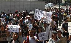 La economía zancadillea a Macri en Argentina