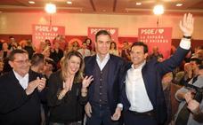 Sánchez inicia la precampaña en Granada apelando al «sentido común» en las urnas