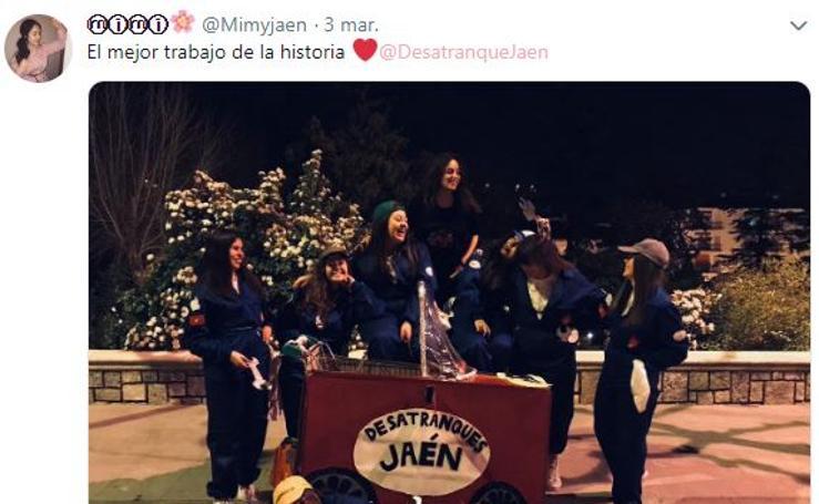 Desatranques Jaén: el disfraz estrella de este Carnaval