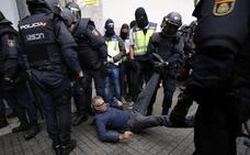 Un juzgado de Barcelona cree que la Policía usó una violencia desmesurada el 1-O
