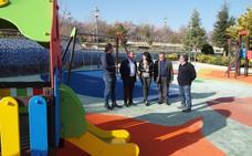 Torredelcampo acomete obras en el parque Isabel la Católica