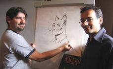 Los creadores de Blacksad, Juanjo Guarnido y Juanjo Díaz Canales, Premio Granada Noir