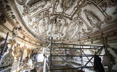 La impresionante bóveda del convento de la Merced de Granada, restaurada 400 años después