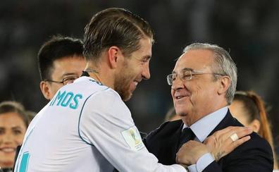 Ramos osa echar un pulso a Florentino