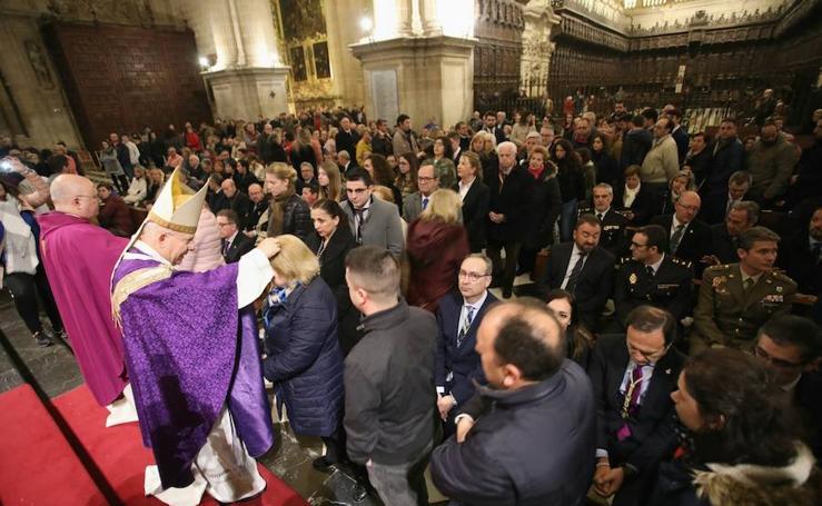Jesús de la Piedad en el Vía Crucis en la Catedral de Jaén