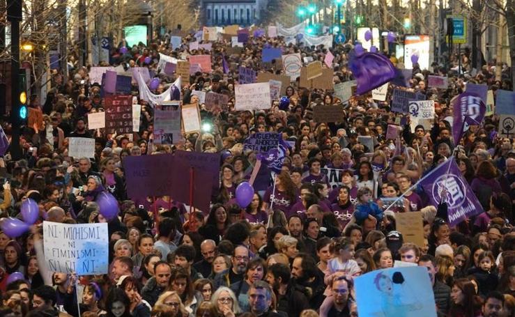 Otro 8M multitudinario en Granada
