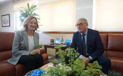 Caicedo ejerce como presidente de la Autoridad Portuaria de Almería