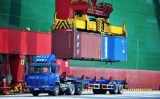 Las exportaciones chinas se desploman por la guerra comercial con EE UU