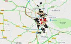 Una colisión múltiple entre cinco vehículos colapsa la Circunvalación de Granada