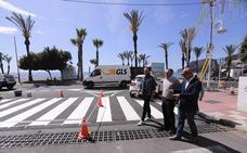 Las obras de canalizaciones y reforma del paseo de La Herradura tocan a su fin