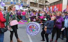 5.000 jienenses reclaman igualdad en el 8M