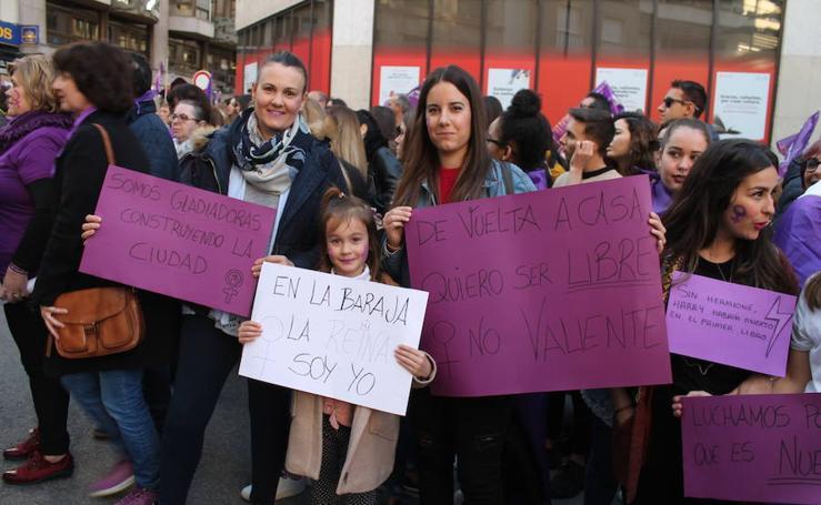 Jaén se echa a la calle por el 8M