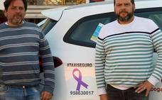 Los taxistas de Almuñécar se ofrecen para ayudar a las mujeres en situaciones de peligro