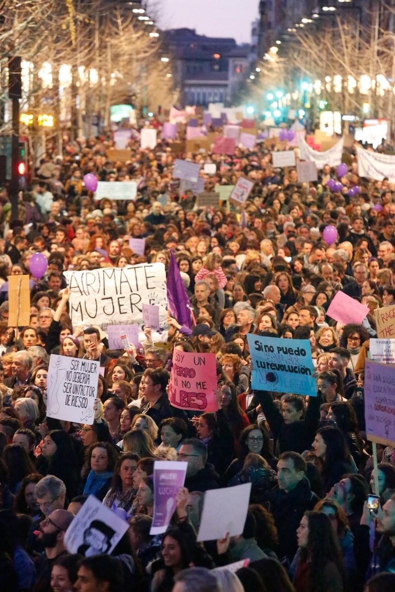 Caudales de espíritu feminista en el 8M