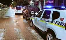 Tres menores detenidos por actos vandálicos en Las Fuentezuelas