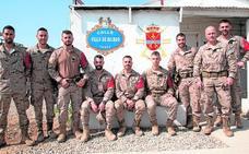 El Regimiento 'Garellano' nº 45 celebra su 147º Aniversario en Irak