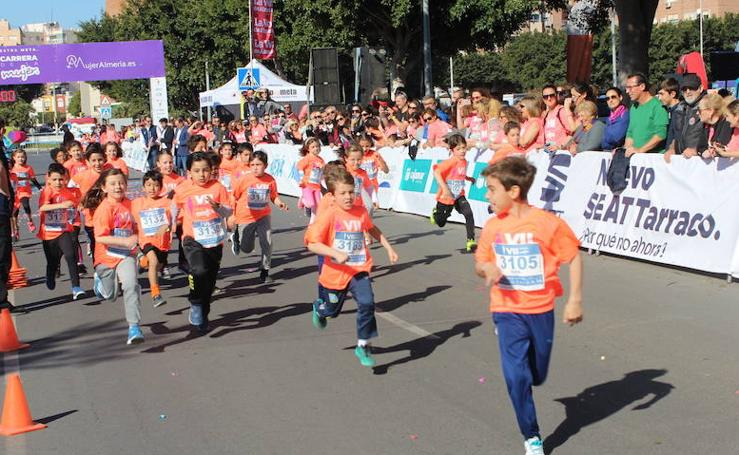 La carrera de la mujer de Almería sigue ganando público y atletas