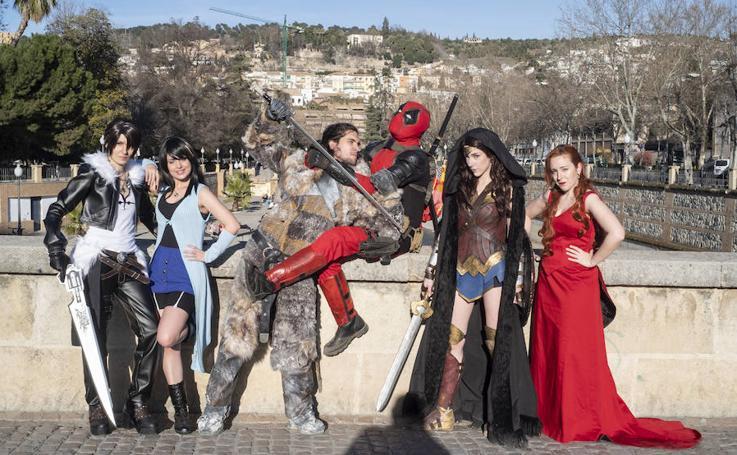 Las mejores imágenes del reportaje sobre cosplay en Granada