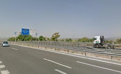 Cinco heridos tras un accidente en la A-92 a la altura de Pulianas (Granada)