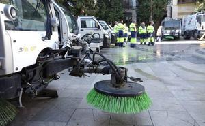 Granada tendrá más hidrolimpiadoras para evitar alergias y contaminación