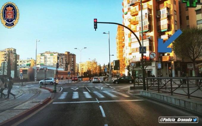 Cambio importante para el tráfico en una de las principales calles de Granada
