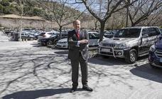 El PP propone cerrar el aparcamiento de la Alhambra y crear en su lugar un gran parque