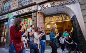 La primavera llega a Granada con la apertura de 'Los Italianos'