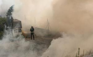 A disposición judicial dos individuos que provocaron incendios forestales por quemar restos agrícolas