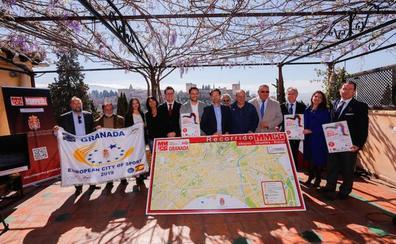 La Media Maratón de Granada se presenta con vistas a la Alhambra
