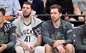 Mirotic ayuda al triunfo de los Bucks, Pau no juega y Juancho cumple con los Nuggets