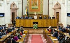 El Parlamento andaluz no ve incompatibilidad en los ocho diputados de Vox