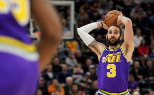 Ricky Rubio regresa con triunfo de los Jazz y Calderón no juega con los Pistons