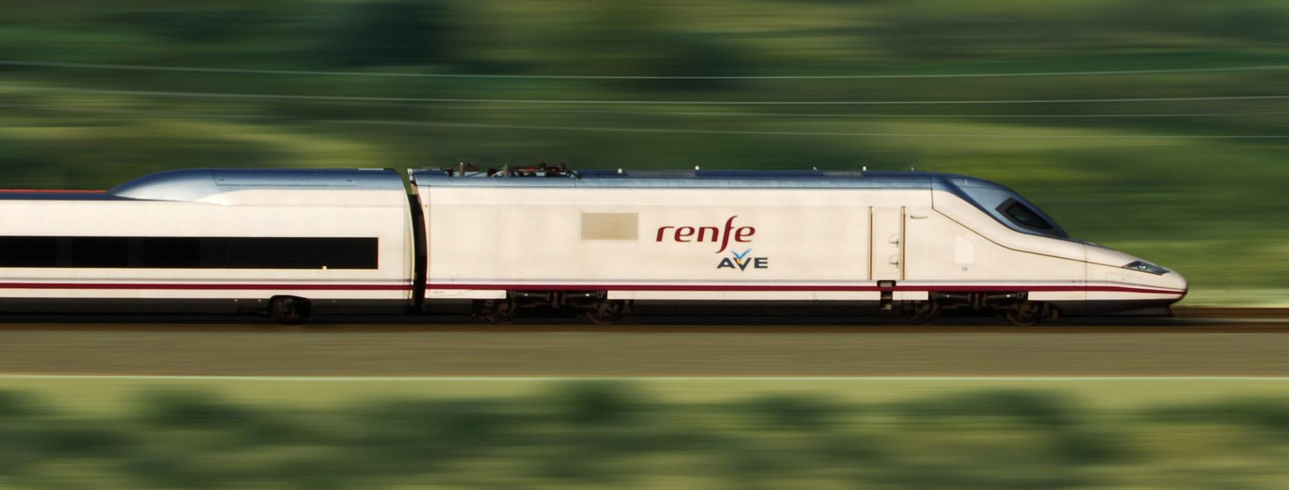 Así son los trenes de las pruebas del AVE