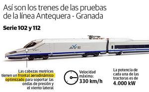Así son los trenes que empezarán a circular a 300 km/h por la línea del AVE de Granada