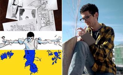Dibujando a Kaos: «Mi obra mezcla leyendas de Granada, fantasía y temática LGTB»